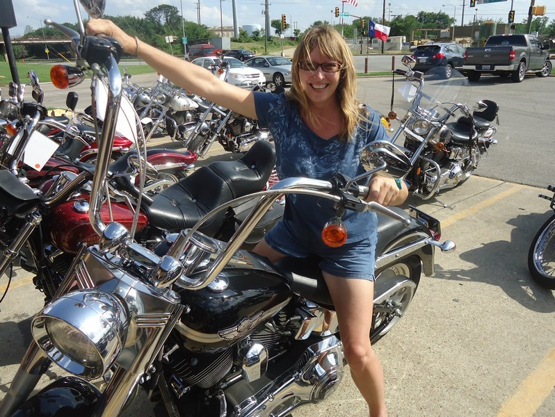 Biker Babe Vanessa!