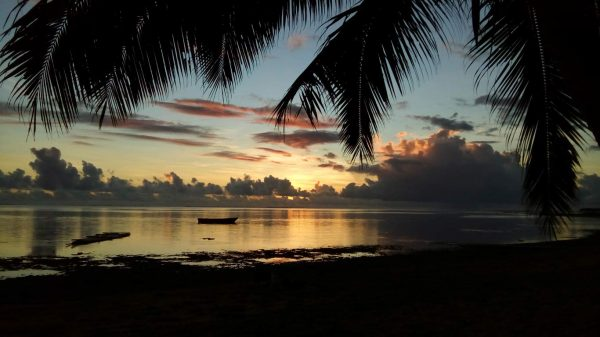 Sunset on Fiji's Coral Coast - what a beautiful house sit location