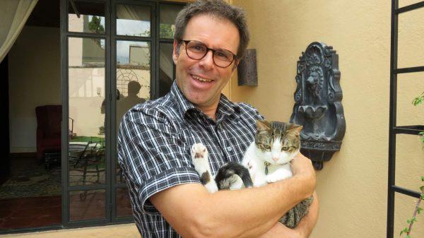 Ian with Ripley in San Miguel de Allende, Mexico