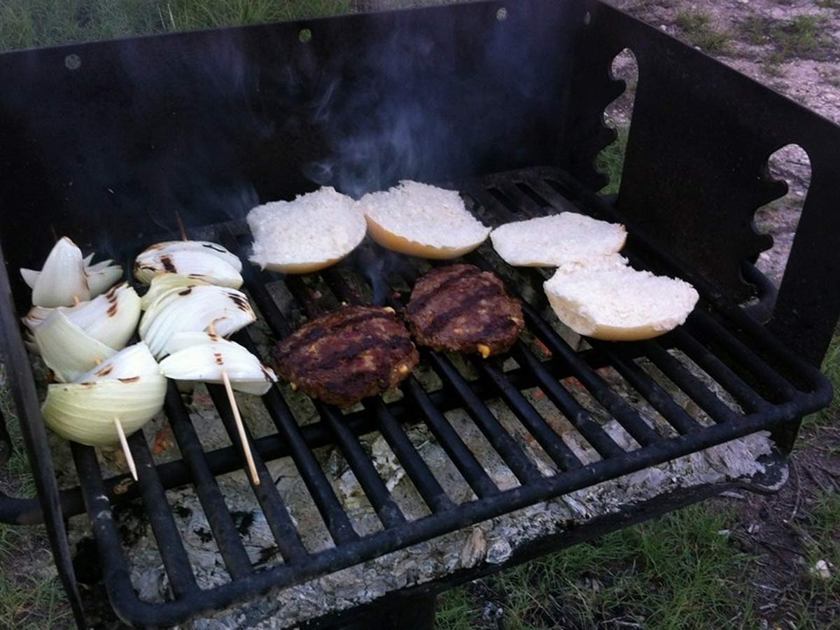 BBQ on the go ...